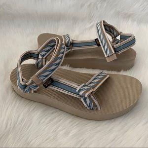 Teva Midform Universal Sandals Bolt Light 10